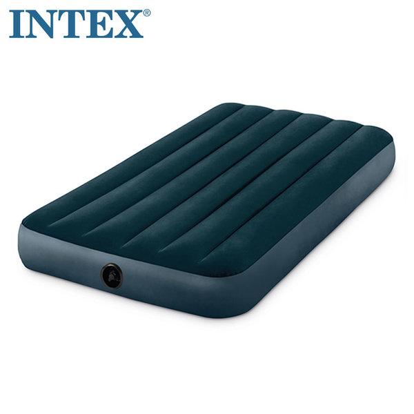 Intex Downy Надуваем матрак 99х191см Fiber Tech Technology 64732