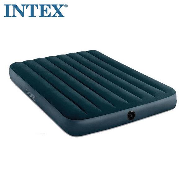 Intex Downy Надуваем матрак 137х191см Fiber Tech Technology 64733