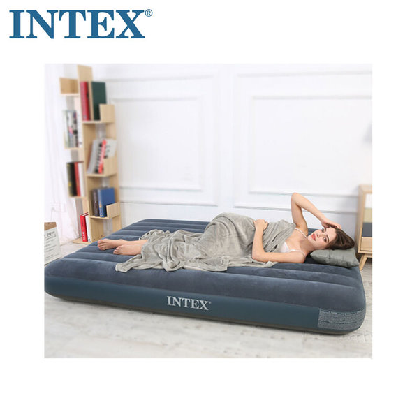 Intex Надуваем матрак 183х203см 64735