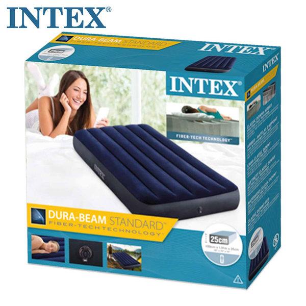 Intex Надуваем матрак 99х191см Dura-Beam Standard Classic Downy 64757