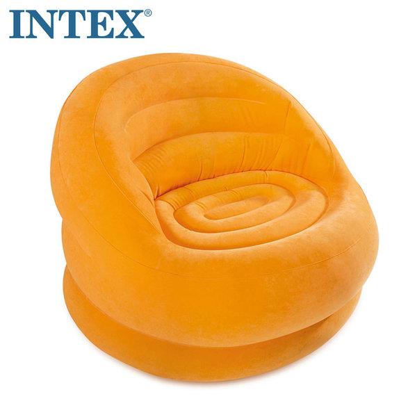 Intex Надуваемо кресло Lumi оранж 68577