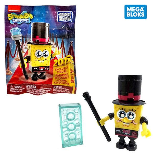 Mega Bloks SpongeBob Случайна мини фигурка за сглобяване CNP45