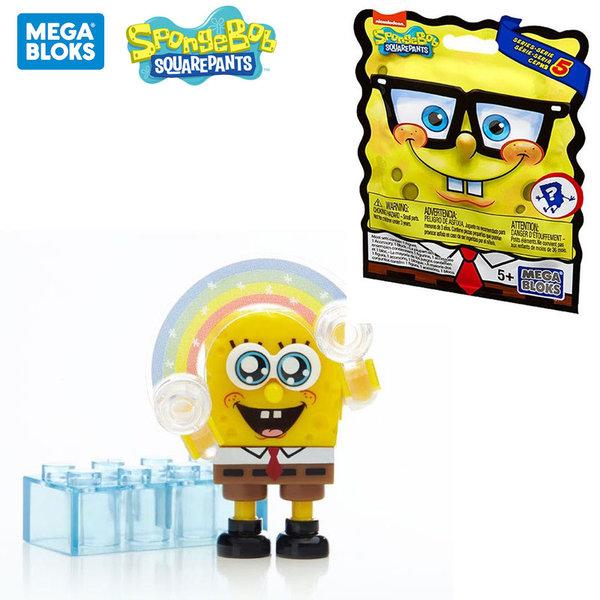 Mega Bloks SpongeBob Случайна мини фигурка за сглобяване CNJ86