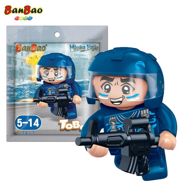 BanBao Строител 5+ Мини фигура боец 7217