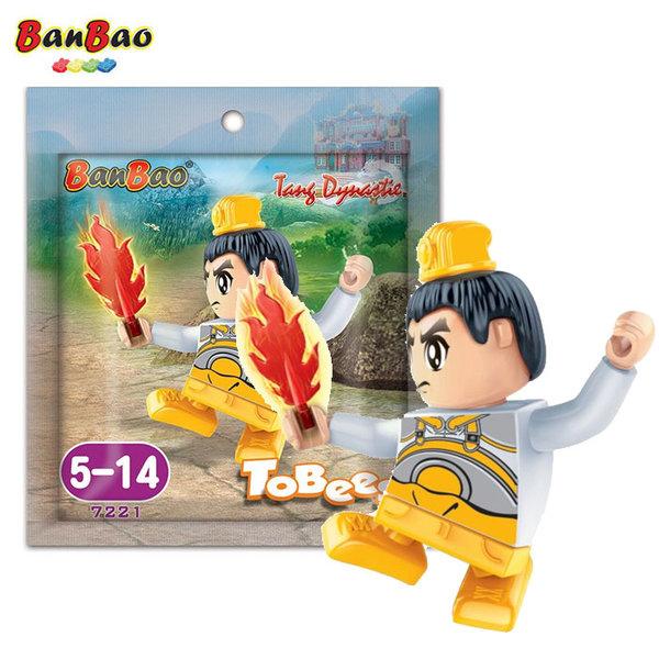 BanBao Строител 5+ Мини фигура танцьор 7221