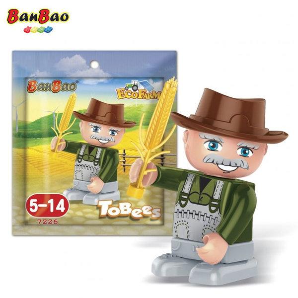 BanBao Строител 5+ Мини фигура фермер 7226