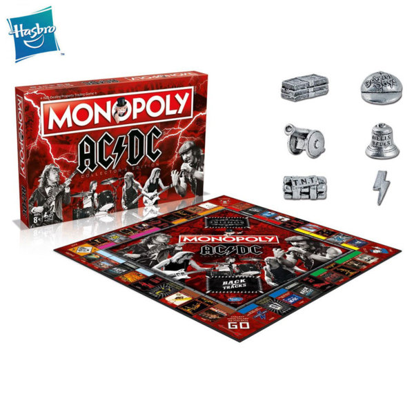 Hasbro Monopoly Монополи AC DC WM33152