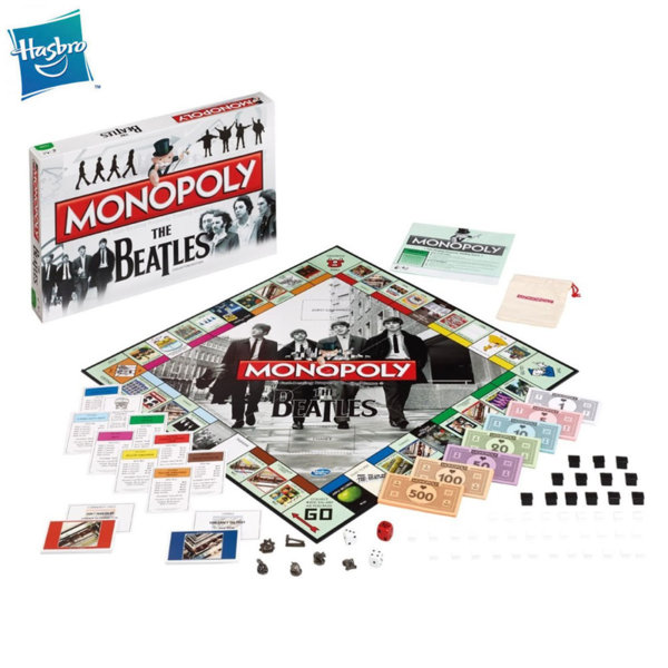 Hasbro Monopoly Монополи Бийтълс WM20046
