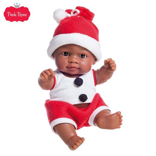 Paola Reina Los Peques Кукла бебе Olmo с коледни дрешки 21см 01260