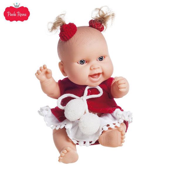 Paola Reina Los Peques Кукла бебе Lucia с коледни дрешки 21см 01267