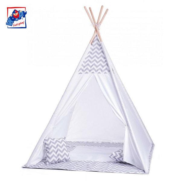 Woody Детска индианска палатка 91420