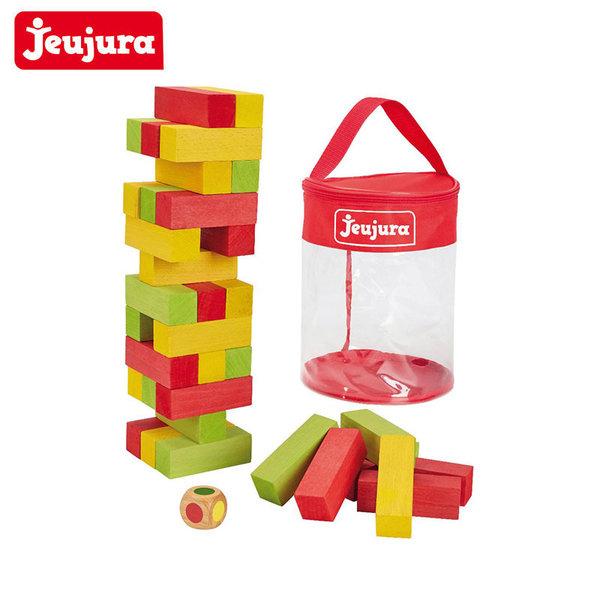 Jeujura Дървена игра дженга 36 части J8607