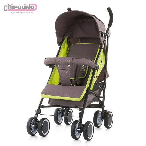Chipolino Детска количка Зуми лайм