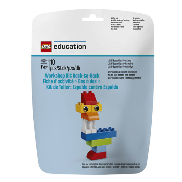 Lego 2000444 Education Уъркшоп комплект Back-to-back