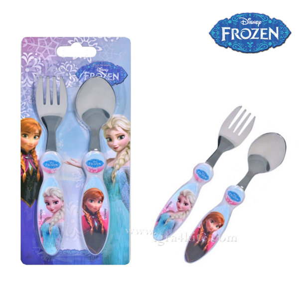 Frozen Прибори за хранене Елза и Ана 17182