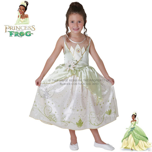 Disney - Детски карнавален костюм Disney Принцеса Тиана 886822