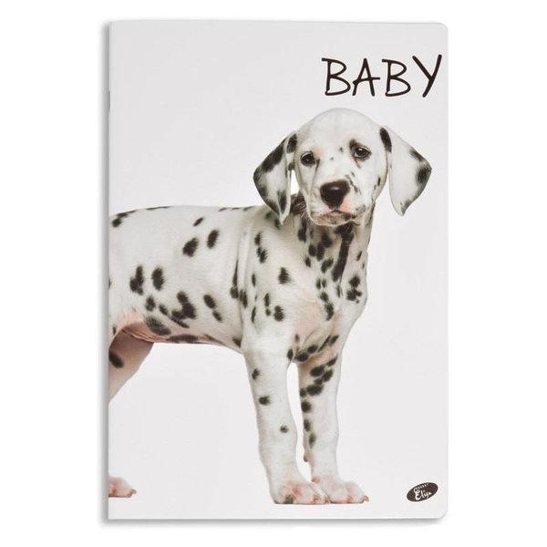 Elisa Тетрадка А5, 60 листа с широки редове Baby далматинец 6463