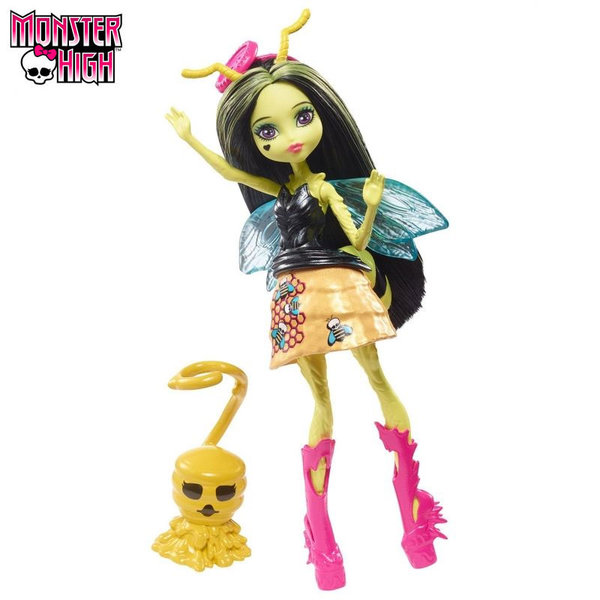 Monster High Garden Ghouls Кукла Beetrice 13см FCV47
