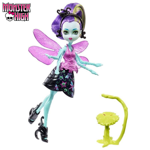 Monster High Garden Ghouls Кукла Wingrid 13см FCV47