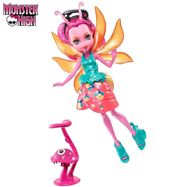 Monster High Garden Ghouls Кукла Lumina 13см FCV47