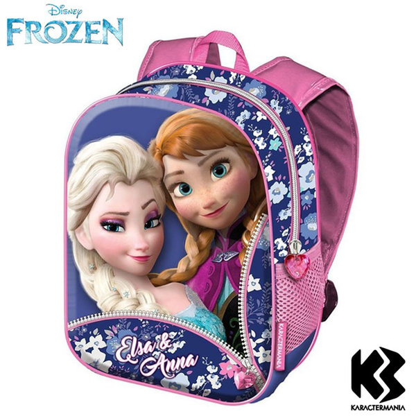 Disney Frozen Раница за детска градина 3D Замръзналото кралство 36154