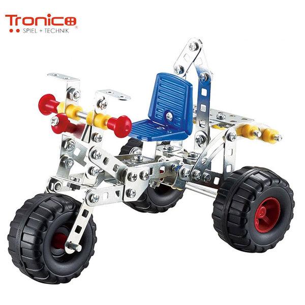 Tronico Детски метален конструктор Триколка Silver 9725