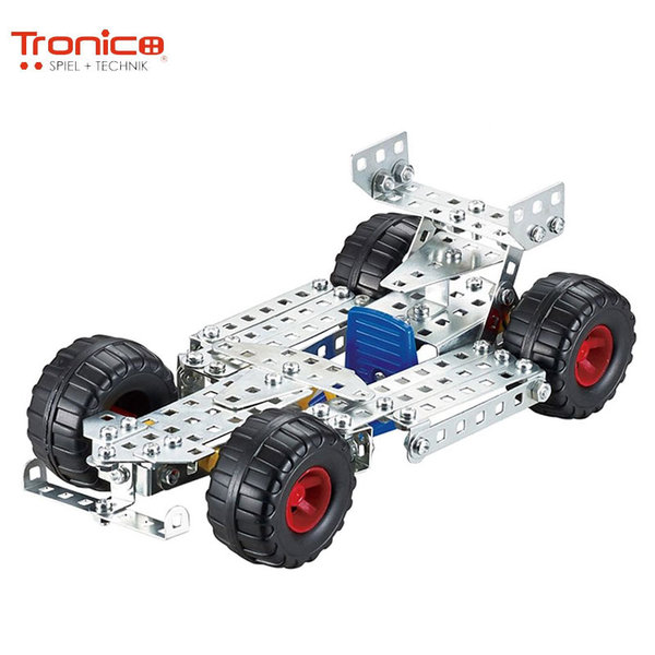 Tronico Детски метален конструктор Състезателна кола Silver 9725