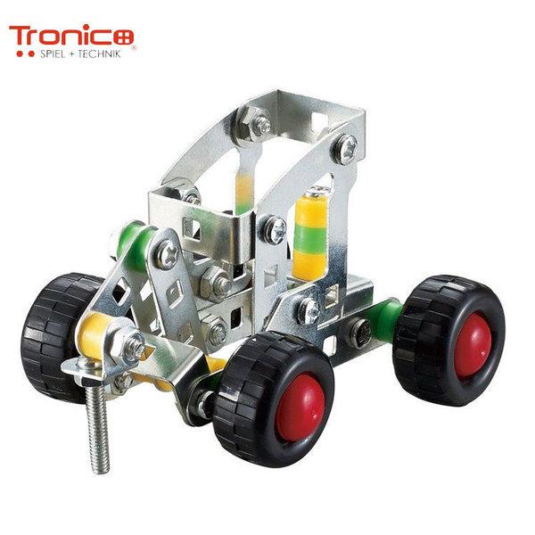 Tronico Детски метален конструктор Багер Silver 9750