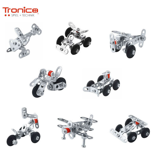 Tronico Детски метален конструктор 8в1 Micro 9550