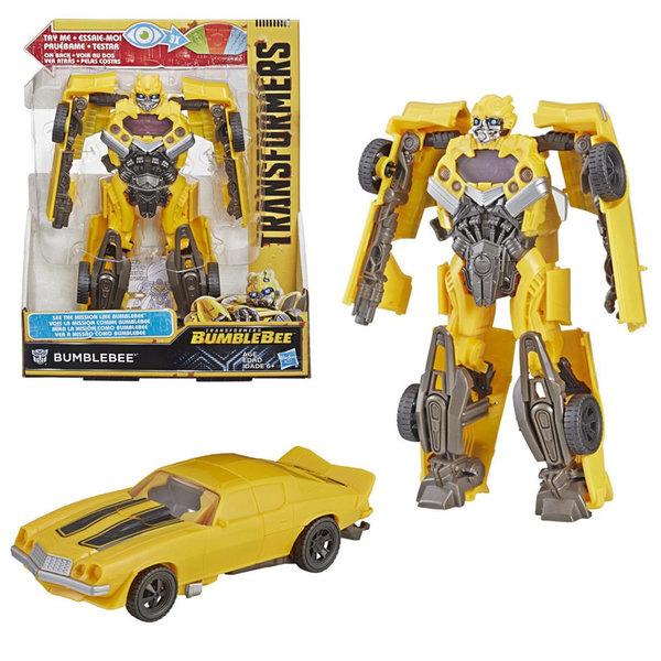 Transformers Bumblebee Mission Vision Трансформърс екшън фигура 21см Bumblebee E3496