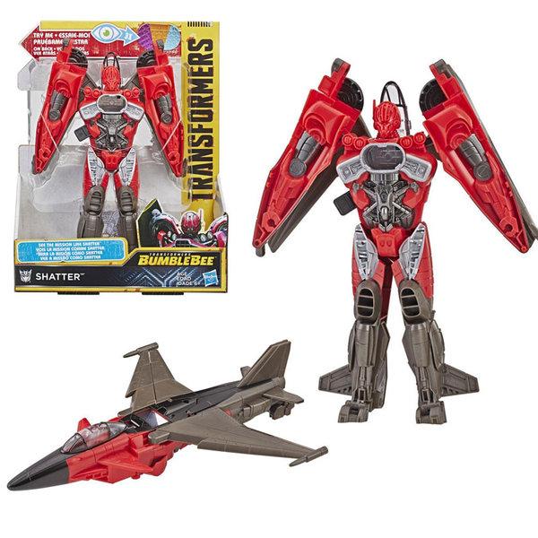 Transformers Bumblebee Mission Vision Трансформърс екшън фигура 21см Shatter E3496