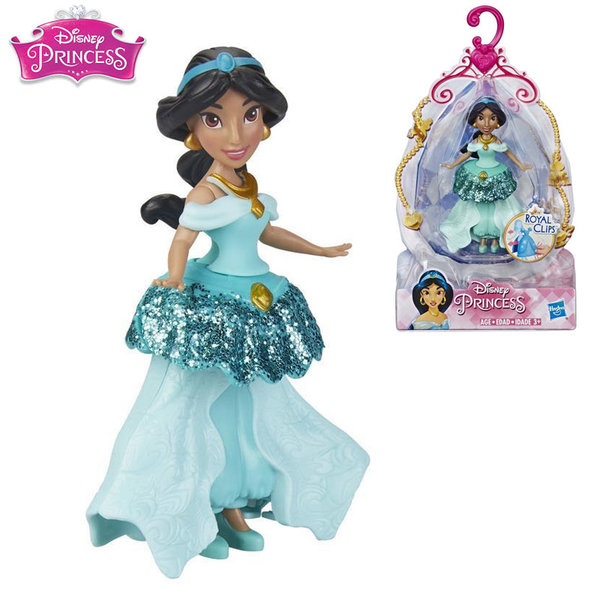 Disney Princess Мини кукла Ясмин Royal Clips Fashion E3049
