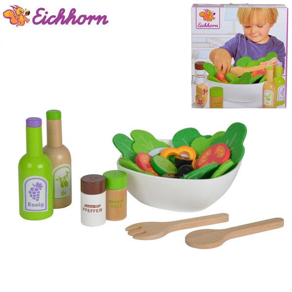 Eichhorn Дървен комплект за салата 100003738