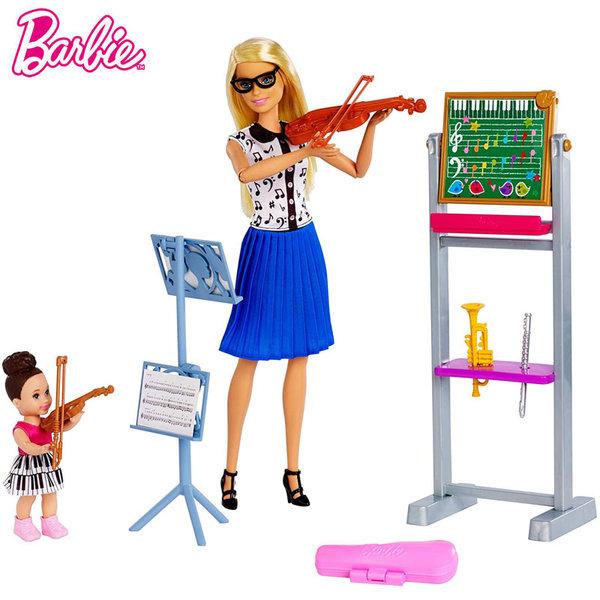 Barbie Кукла Барби учителка по музика DHB63