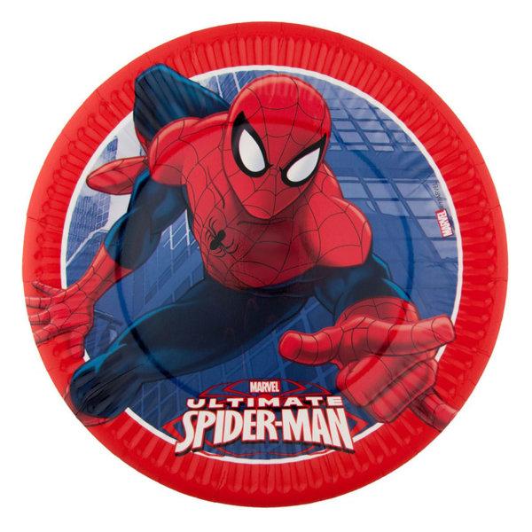 Procos Spiderman Парти чинийки Спайдърмен 102329