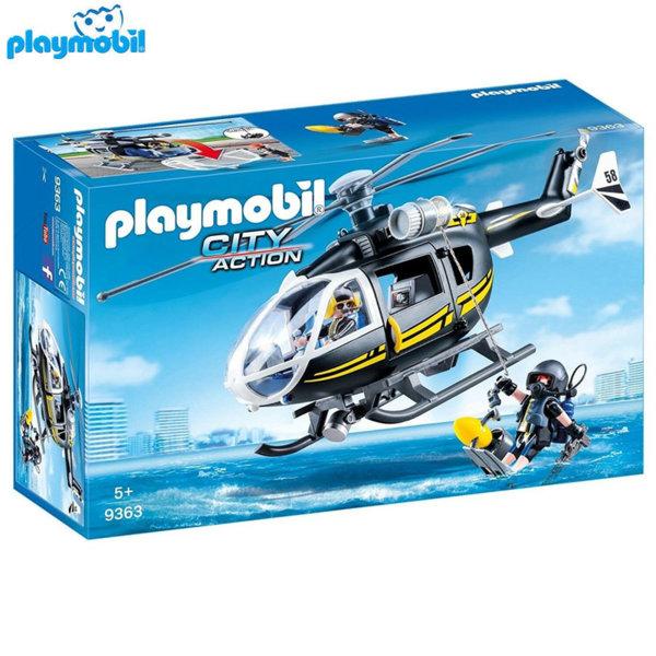 Playmobil Хеликоптер на специалните части 9363