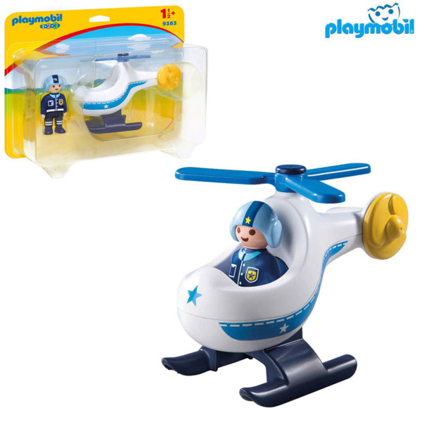 Playmobil Полицейски хеликоптер 9383