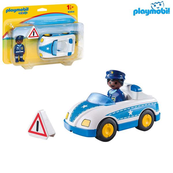 Playmobil Полицейска кола 9384