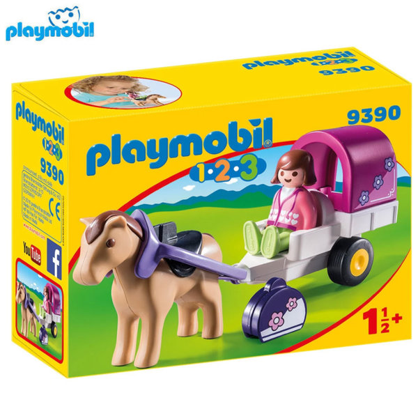 Playmobil Каляска с коне 9390