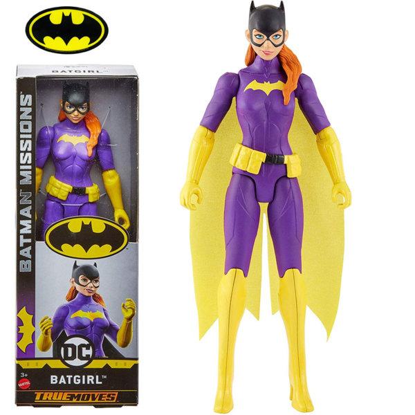 Batman Missions True Moves Екшън фигура 30см Batgirl FVM72