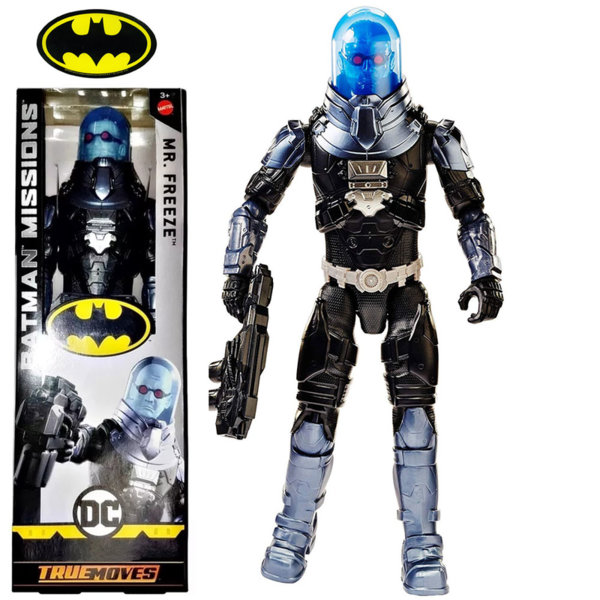 Batman Missions True Moves Екшън фигура 30см Mr. Freeze FVM76
