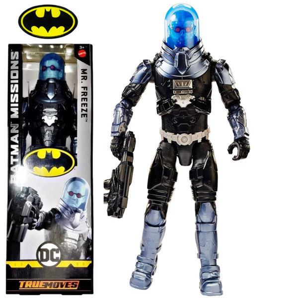 Batman Missions True Moves Екшън фигура 30см Mr. Freeze FVM76