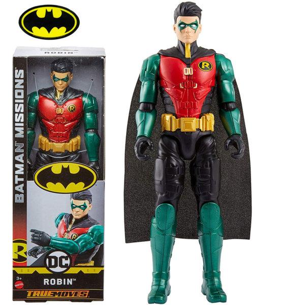 Batman Missions True Moves Екшън фигура 30см Robin FVM71