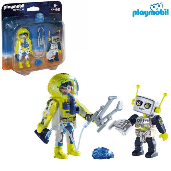 Playmobil Астронавт и робот 9492