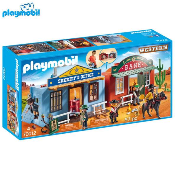 Playmobil Уестърн град 70012