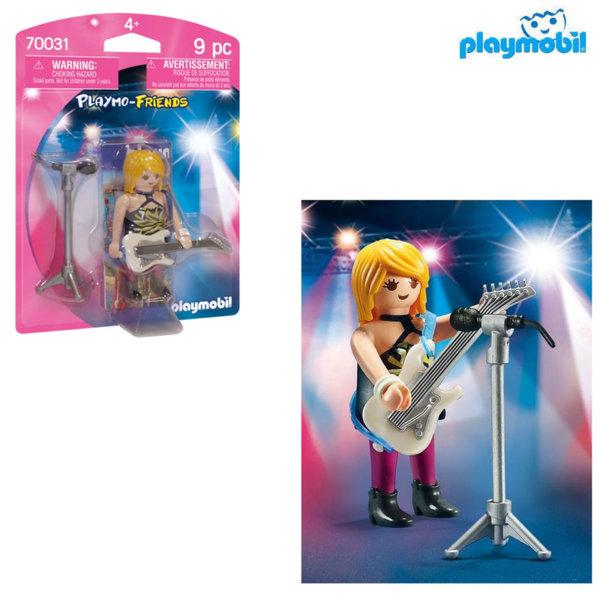 Playmobil Рок звезда 70031
