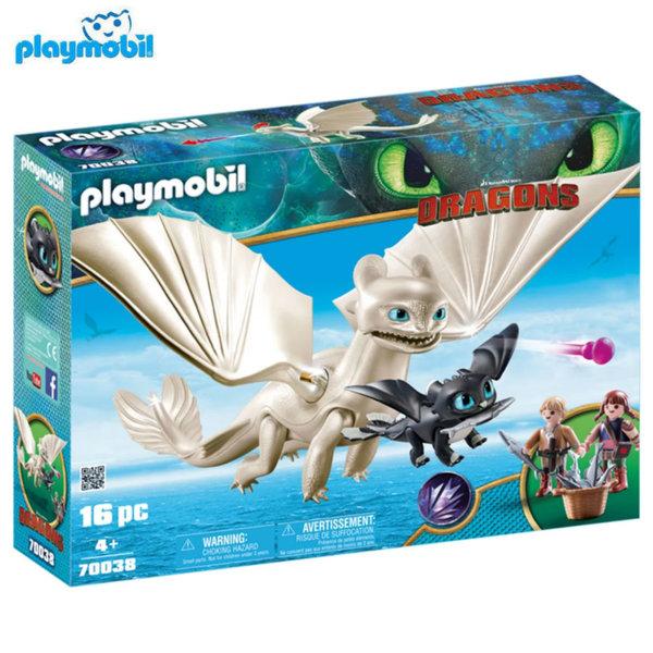 Playmobil Светъл бяс с бебе дракон и деца 70038