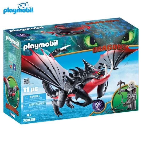Playmobil Смъртоносният дракон и Гримел 70039
