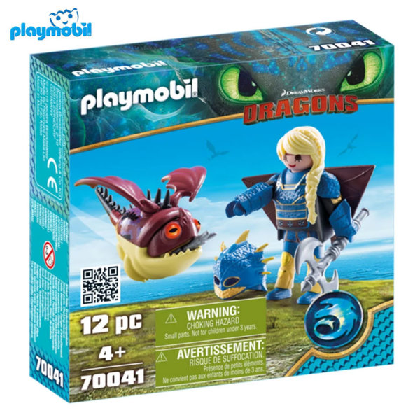 Playmobil Астрид с драконче 70041