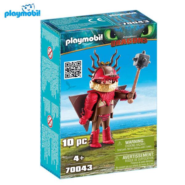 Playmobil Snotlout с костюм за летене 70043